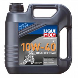 Motorolja 4-Takt Mineral 10W-40 Basic Offroad LIQUI MOLY