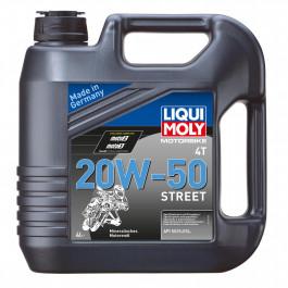Motorolja 4-Takt Mineral 20W-50 Basic Street LIQUI MOLY