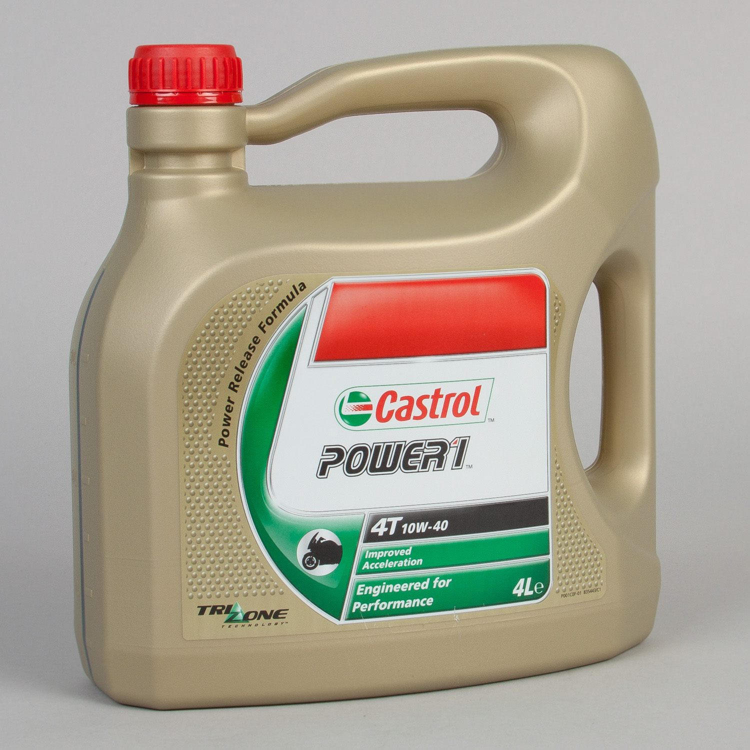 Splitter nya Motorolja Delsyntet Power 1 4L Castrol - Motoaction NU-16