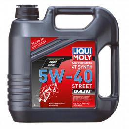 Motorolja Street Race Helsyntet 5W-40 Liqui Moly