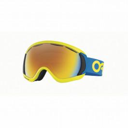 Oakley CANOPY Goggles factory pilot retina blue Lens fire iridium