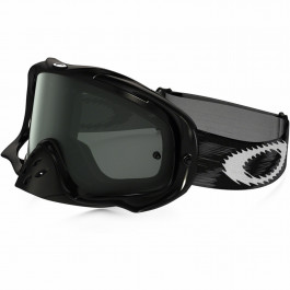 Oakley Crowbar Mx Jet Black Speed w/Dk. Grey Goggle