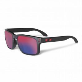 Oakley Holbrook Sunglasses frame matte black Lens positive red iridium