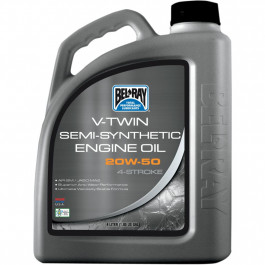 OIL VTWIN SEMI 20W50 4L (1GAL)