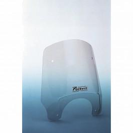 Polywel windscherm 8000 XS Round 50% smoke