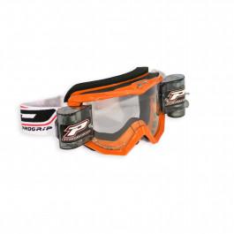 PRO GRIP Crossglasögon 3208 Race Pack Orange - Klar