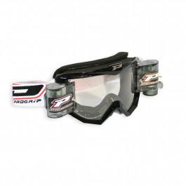 PRO GRIP Crossglasögon 3208 Race Pack Svart - Klar