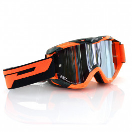 PRO GRIP Crossglasögon 3450 Fluo Multilayered Orange - Spegel