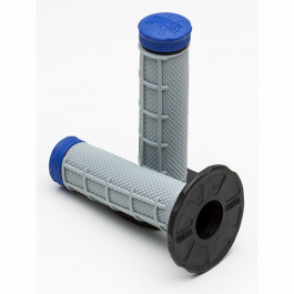 Pro Taper Grip Tri-Density ½ waffle blue/grey