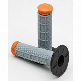 Pro Taper Grip Tri-Density ½ waffle orange/grey