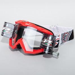 Progrip Crossglasögon XL Roll Off Röd
