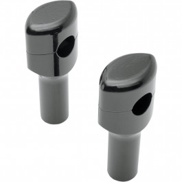 """RISERS 1"""" SMOOTH 3""""BLK"""