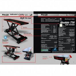 Saxbord ABSOLUTE 756 Bike-Lift