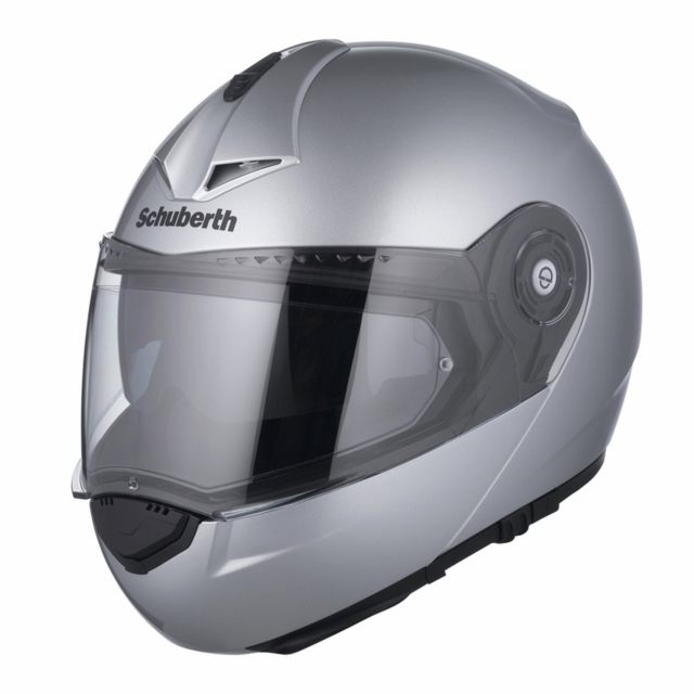Schuberth Öppningsbar Hjälm C3 PRO Silver
