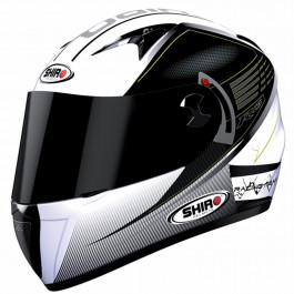 Shiro SH-3700 R15 White-Black 62-XL