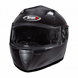 Shiro SH-3700 Solid black metal 64-XXL