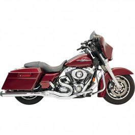 Slipon ROAD RAGE II B1 POWER Harley-Davidson 2-INTO-1 BASSANI XHAUST