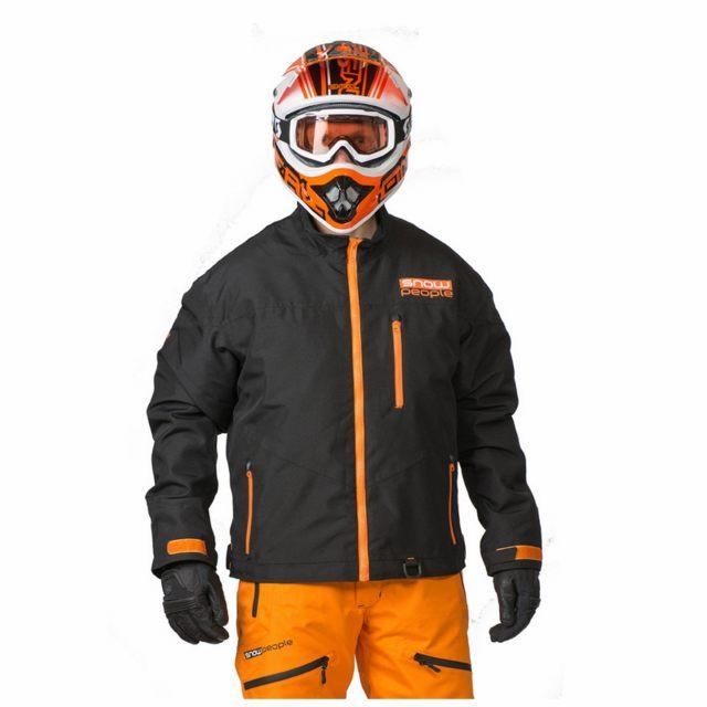 SnowPeople Skoterjacka Statbam Light Sport Svart