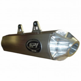 SPI Slip-On Exhaust Can-Am  Outlander MAX 2008-12