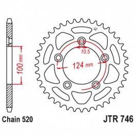 SPROCKET REAR 520 46T