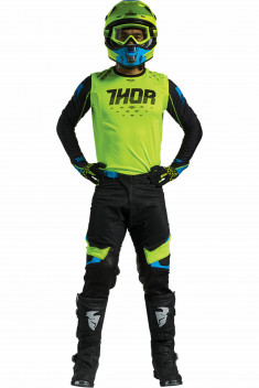 THOR Crosskläder PRIME FIT ROHL 2017 Grön/Svart