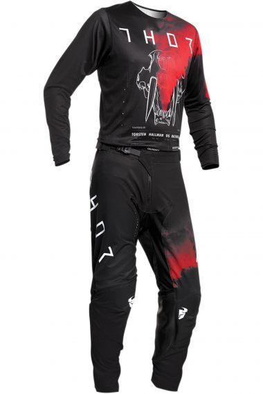 THOR Crosskläder Prime Pro Forsta Svart/Röd