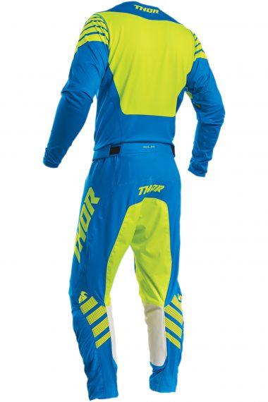 THOR Crosskläder Prime Pro Strut Electric Blå/Gul
