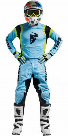 Thor Crosskläder Pulse Air Profile Powder 2017 Blå