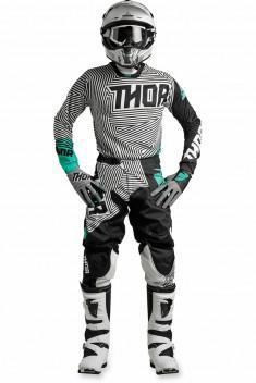 Thor Crosskläder PULSE GEOTEC 2018 Svart/Teal