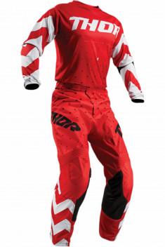 THOR Crosskläder Pulse Stunner Röd/Vit