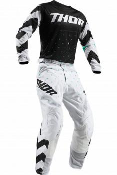 THOR Crosskläder Pulse Stunner Svart/Vit