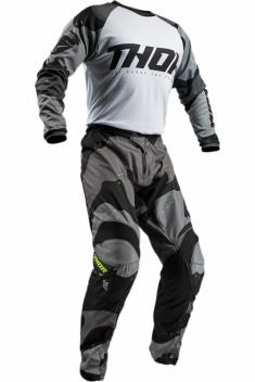 THOR Crosskläder Sector Camo Grå