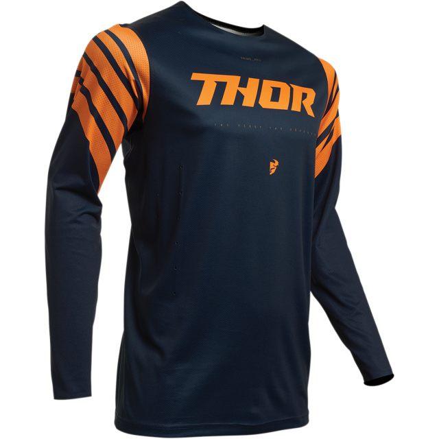 THOR Crosströja Prime Pro Strut Svart/Orange