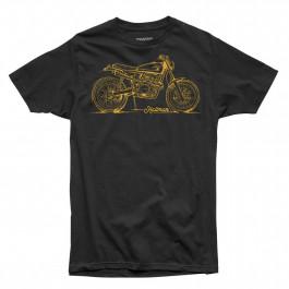 THOR T-Shirt Hallman Braap Svart/Gul