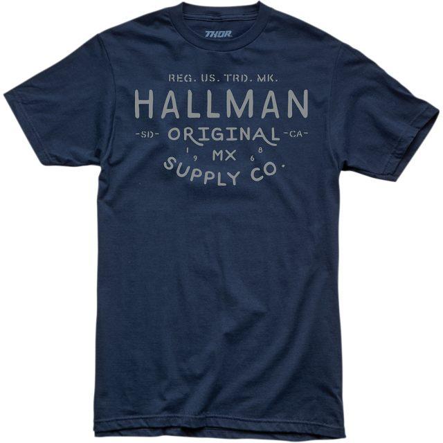 THOR T-Shirt Hallman Supply Navy