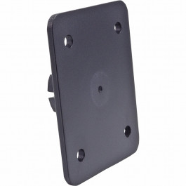TOP PLATE 4 HOLE AMPS BLK