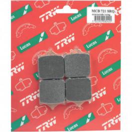 TRW Bromsbelägg FRAM SRQ SINTER-CARBON RACE