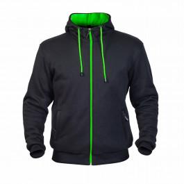 TWICE Hoodie Helkevlar Svart/Grön