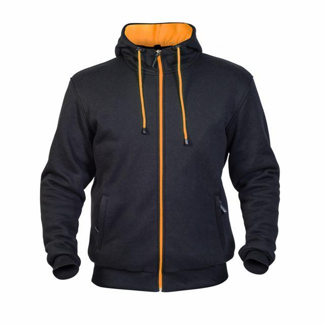 TWICE Hoodie Helkevlar Svart/Orange