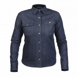 TWICE Jeansskjorta Dam Dusty Kevlar Blå