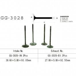 VALVE, EXHAUST GG-3028-EX