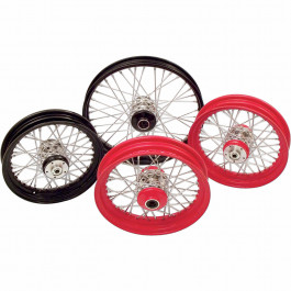 WHEEL FT LACE 16X3 RED
