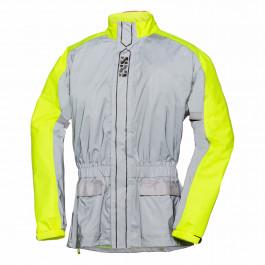 X raincoat reflex ST neon gray, L