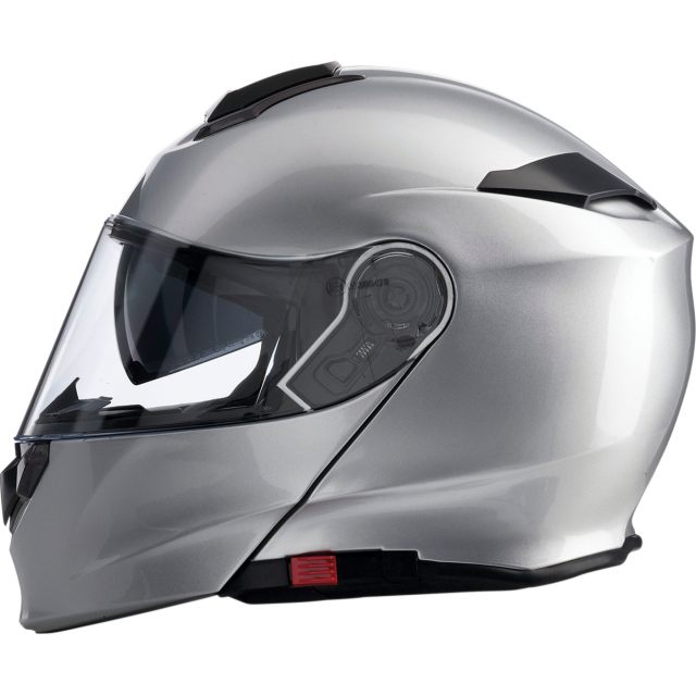 Z1R Öppningsbar Hjälm Solaris Solid Silver