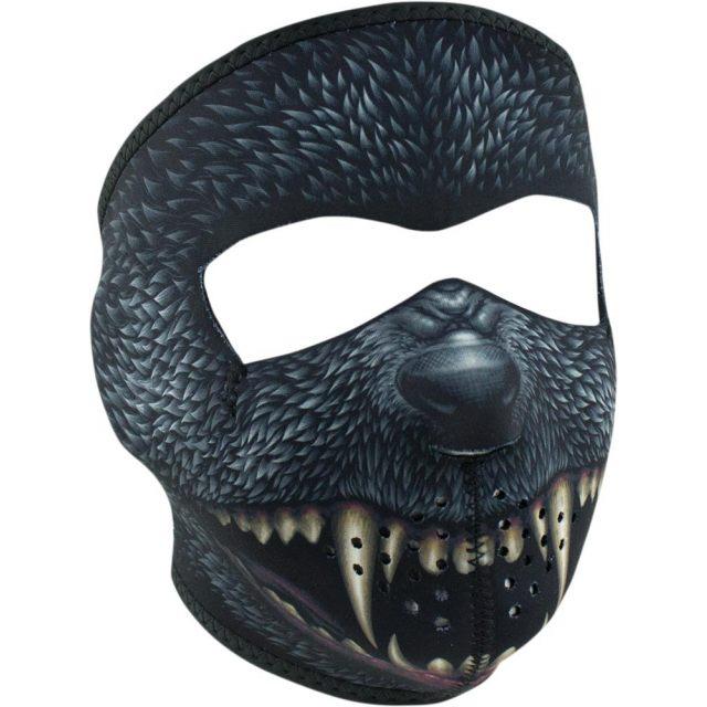 ZAN HEADGEAR Ansiktsmask Silver Billet Grå/Svart